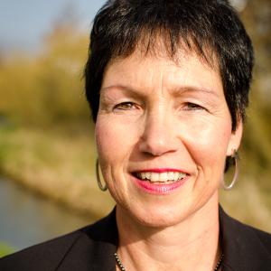 Kreisrätin Christiane Hütt-Berger